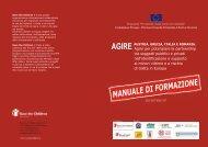 Manuale di formazione - Save the Children Italia Onlus