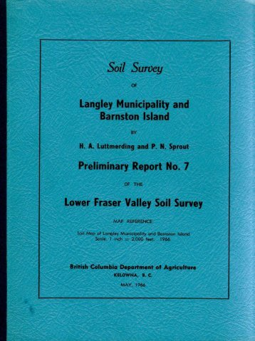 Soil Survey - Agriculture and Agri-Food Canada