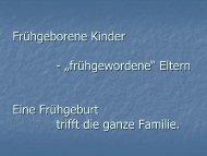 Frühgeborene Kinder - Früh- und Risikogeborene Kinder Rheinland ...