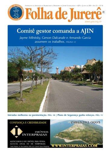 Comitê gestor comanda a AJIN - Ajin.org.br