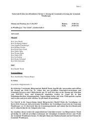 1. öffentliche Sitzung vom 11.06.2013 - Amt Mitteldithmarschen