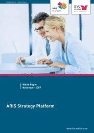 ARIS Strategy Platform - IDS Scheer AG