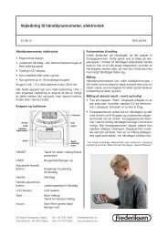 Vejledning DK 781500 - Frederiksen