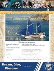 Komodo Dancer East of Flores Itinerary - Aggressor Fleet
