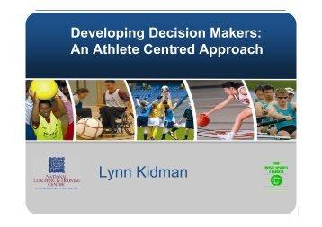 Lynn Kidman Keynote Presentation - Coaching Ireland