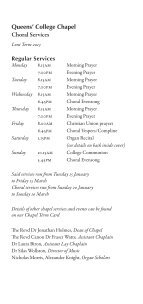 Lent 2013 - College Choir - Page 3