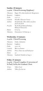 Lent 2013 - College Choir - Page 4