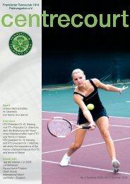 Ausgabe 5, Sommer 2008 - FTC Palmengarten