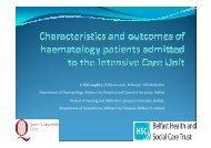 Caroline McCaughey - Haematology Association of Ireland