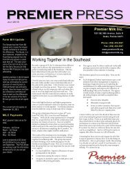July - Premier Milk, Inc.