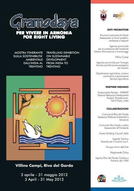 Gramodaya 2012 - Agenzia provinciale per la protezione dell ...