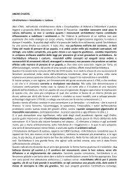 neoclassicismo a chastel & g c argan - Scuole Maestre Pie