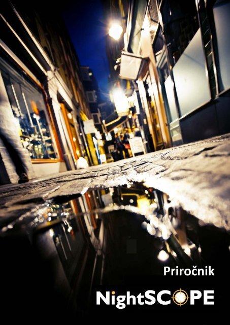 Priročnik NightSCOPE - Club Health