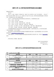 2013-04-28 清华大学102周年校庆经管学院校友活动邀请