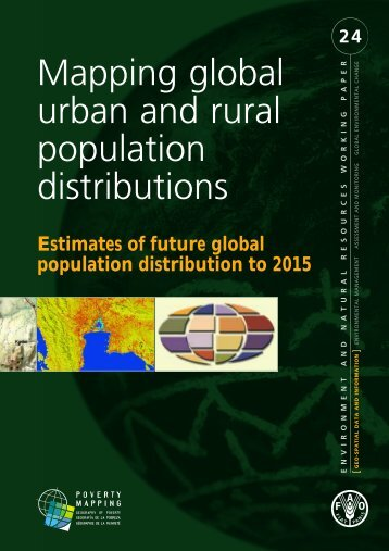 Mapping global urban and rural population distributions - Center for ...