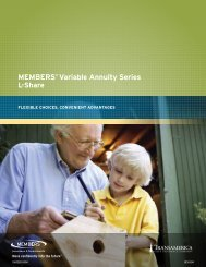 MEMBERS® variable annuity Series L-Share - CUNA Mutual Group
