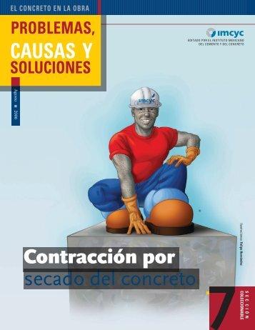 secado del concreto CAUSAS Y Contracción por - Instituto ...