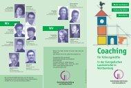 Coaching - Evangelisches Bildungszentrum
