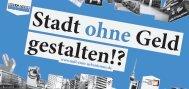 Flyer Transferstelle »Null Euro Urbanismus«