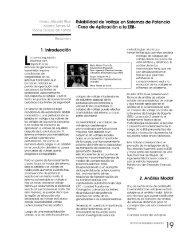 Estabilidad de Voltaje en Sistemas de Potencia - Revista de ...