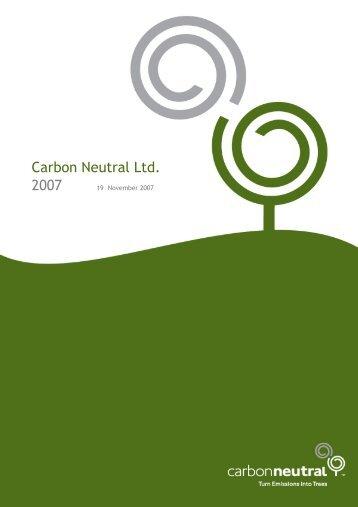 Carbon Neutral Ltd information - Kalamunda Chamber of Commerce