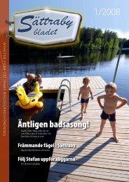 Sättrabybladet nr 1, 2008 - Hyber