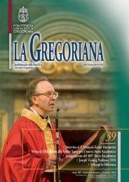 39 - Pontifical Gregorian University
