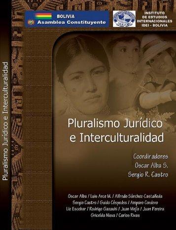Pluralismo Juridico e Interculturalidad - Biblioteca Virtual de Salud ...