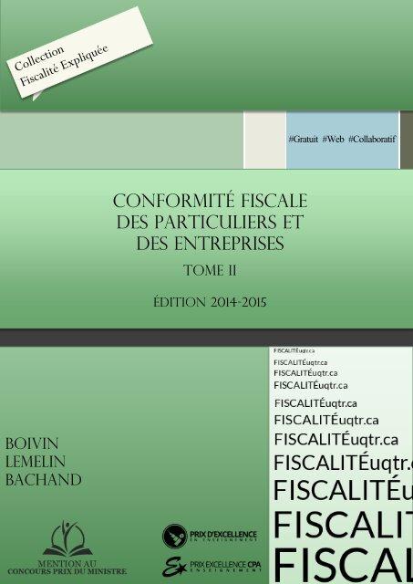 Conformité fiscale des particuliers et des entreprises, Tome II