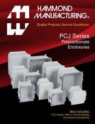 PCJ Series - Hammond Mfg.