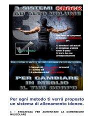 Per ogni metodo ti verrà proposto un sistema di ... - Ultimate Italia