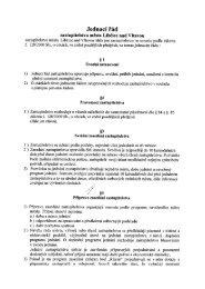 Jednací řád zastupitelstva města - Libčice nad Vltavou