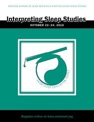 Interpreting Sleep Studies - American Academy of Sleep Medicine