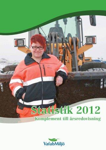 Statistik 2012 - VafabMiljö