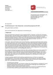 Strassenbau - SP Appenzell Ausserrhoden