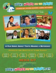 Download Media Kit (PDF) - Young Voices for the Planet