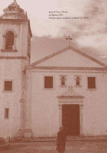 Igreja de Cosme e Damião em Igaraçu - Academia Brasileira de ...