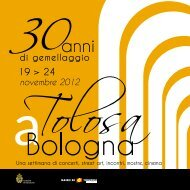 Il programma - Unibo Magazine - Università di Bologna