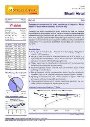 Bharti Airtel - The Smart Investor