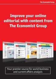 Download Brochure - The Economist