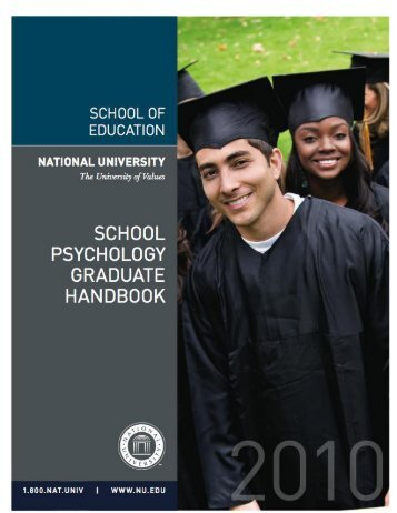 School Psychology Graduate Handbook - National University