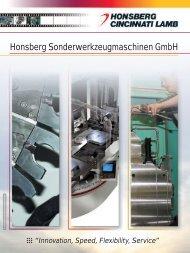 Honsberg Sonderwerkzeugmaschinen GmbH - Agentur FreyGeist