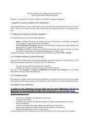 Extrait du mémento de l'employeur face à l'habilitation (Edition de ...