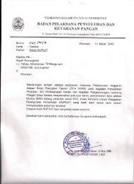 Perubahan RUPBJ BPPKP - Gunungkidul