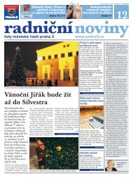 Radniční noviny - prosinec 2011 - Praha 3