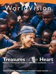 Autumn 2003 - World Vision