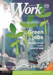 Climate change in the world of work - International Labour ...