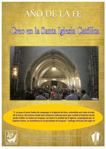 + Especial febrero - Año de la fe V - Diócesis de Teruel y Albarracín