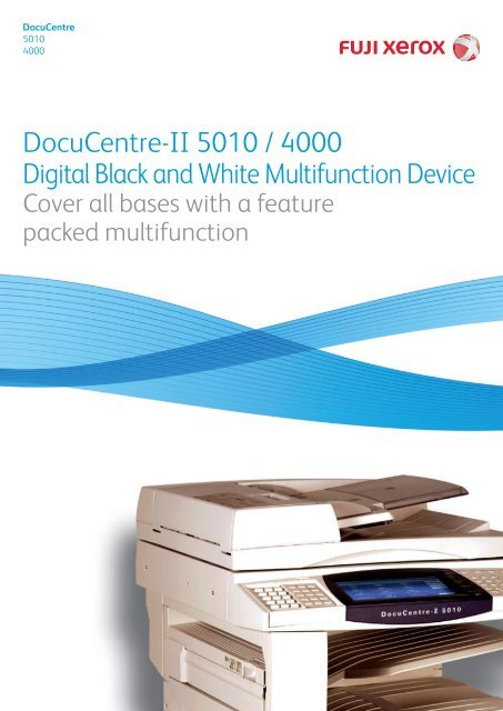 FX DOCUCENTRE-II 6000 PCL 6 DRIVERS FOR WINDOWS