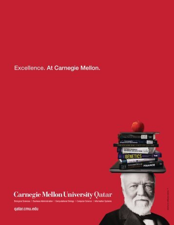 Undergraduate Bulletin - Carnegie Mellon University in Qatar